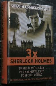 náhled knihy - 3x Sherlock Holmes