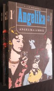 náhled knihy - Angelika a král 2 svazky