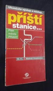 náhled knihy - Plán města Prahy