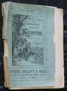 náhled knihy - Pověsti z Jihlavy a okolí pro školu a dům, ročník XIII., číslo 14. a 15.