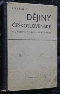náhled knihy - Dějiny československé pro nejvyšší třídu středních škol