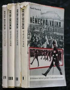 náhled knihy - Německá válka. I., Hitlerovo tažení proti Československu, II. Válka počne v Praze, III. Bleskové války začínají, IV. Tři bleskové války