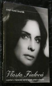 náhled knihy - Vlasta Fialová vypráví v herecké šatně o své práci a životě