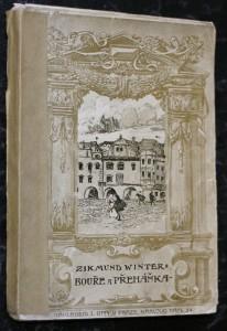 náhled knihy - Bouře a přeháňka : dvě novelly z historie pražské