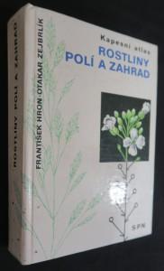 náhled knihy - Rostliny polí a zahrad : kapesní atlas