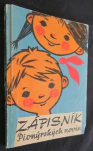 náhled knihy - Zápisník Pionýrských novin [na školní rok] 1964-1965