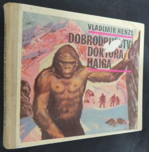 náhled knihy - Dobrodružství doktora Haiga