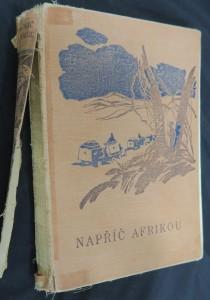 náhled knihy - Napříč Afrikou.