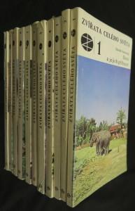 náhled knihy - Zvířata celého světa (díly 1-11)