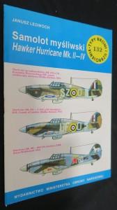 náhled knihy - Samolot myśliwski : 132: Hawker Hurricane Mk. II-IV