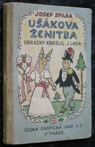 náhled knihy - Ušákova ženitba : Veselé verše s obrázky ... Josefa Lady