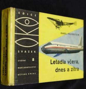 náhled knihy - Letadla včera, dnes a zítra