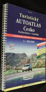 náhled knihy - Turistický autoatlas Česko