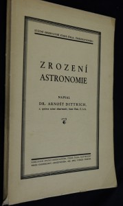 náhled knihy - Zrození astronomie