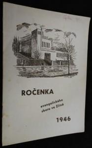náhled knihy - Ročenka evangelického sboru ve Zlíně 1946