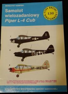 náhled knihy - Samolot wielozadaniowy Piper L-4 Cub