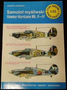 náhled knihy - Samolot mysliwski Hawker Hurricane Mk II-IV