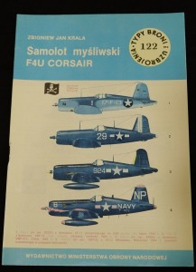 náhled knihy - Samolot mysliwski F4U CORSAIR
