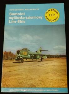 náhled knihy - Samolot mysliwsko-szturmowy Lim-6bis