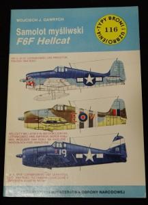 náhled knihy - Samolot mysliwski F6F Hellcat