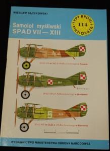náhled knihy - Samolot mysliwski SPAD VII-XIII