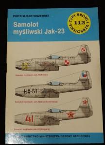 náhled knihy - Samolot mysliwski Jak-23