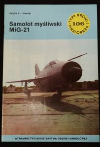 náhled knihy - Samolot mysliwski MiG-21