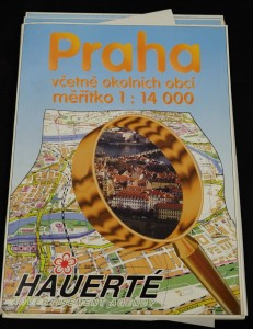 náhled knihy - Praha včetně okolních obcí, měřítko 1:14 000