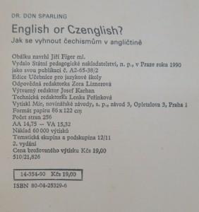 antikvární kniha English or Czenglish? : jak se vyhnout čechismům v angličtině, 1990