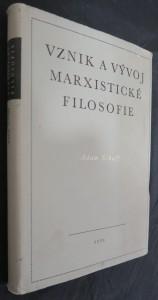 náhled knihy - Vznik a vývoj marxistické filosofie