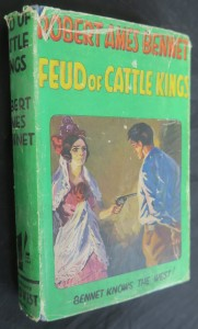 náhled knihy - Feud of Cattle Kings