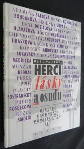 náhled knihy - Herci lásky a osudu : herecké osobnosti poválečných let