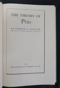 antikvární kniha The theory of price, 1946