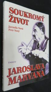 náhled knihy - Soukromý život Jaroslava Marvana (leporelo)