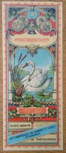 náhled knihy - Fezovka s motivem labutě