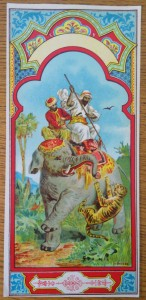 náhled knihy - Fezovka s motivem lovu na tygra