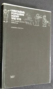 náhled knihy - Panorama Populární hudby 1918/1978