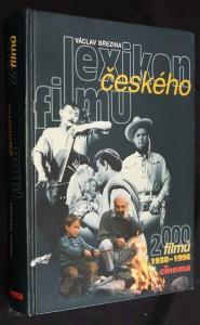 náhled knihy - Lexikon českého filmu : 2000 filmů 1930-1996