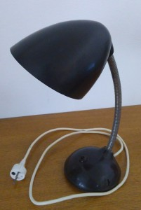 náhled knihy - Bakelitová lampa Funkcionalismus