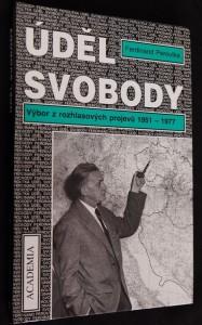 náhled knihy - Úděl svobody : výbor z rozhlasových projevů 1951-1977