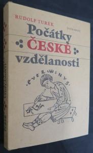 náhled knihy - Počátky české vzdělanosti : od příchodu Slovanů do doby románské