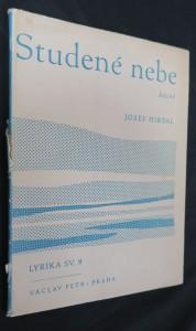 náhled knihy - Studené nebe : Básně