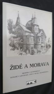 náhled knihy - Židé a Morava