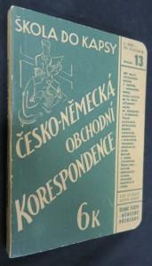 náhled knihy - Česko-německá obchodní konverzace