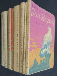 náhled knihy - Jan Kryštof. I-X. díl