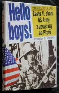 náhled knihy - Hello boys! : cesta 5. sboru US Army z Louisiany do Plzně
