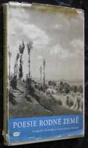 náhled knihy - Poesie rodné země