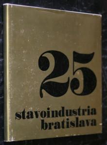 náhled knihy - 25 rokov stavoindustrie 1951-1976
