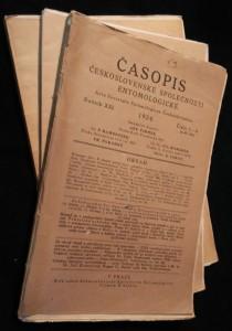 náhled knihy - Časopis československé společnosti entomologické, Ročník XXI. Číslo 1. - 6., 3 sešity