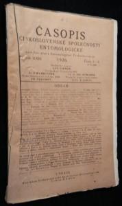 náhled knihy - Časopis československé společnosti entomologické, Ročník XXIII. Číslo 1. - 2.